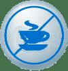 Evitar cafeína y alcohol